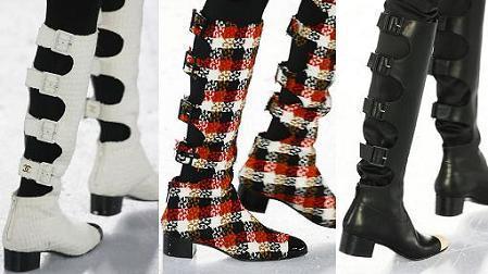 Chanel presenta unas botas muy peculiares