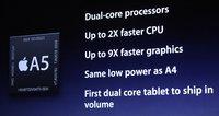 A5 corre a 800MHz, primer prueba de rendimiento al iPhone 4S