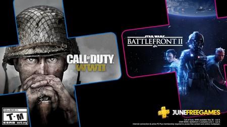 Star Wars Battlefront II y Call of Duty WWII entre los juegos de PlayStation Plus de junio de 2020