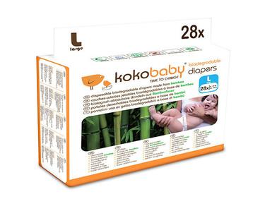 Kokobaby: por fin pañales desechables biodegradables