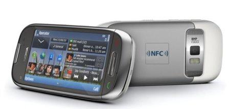 Nokia C7 tiene un chip NFC en su interior, que todavía no utiliza