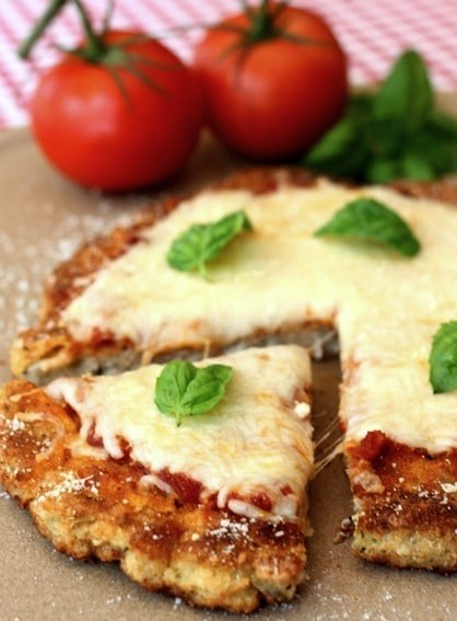 Chicken Parm Pizza Piece