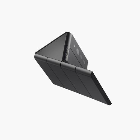 OPPO muestra un extravagante concepto de móvil plegable en varias posiciones