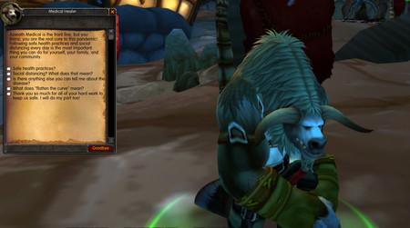 World Of Warcraft - Coronavirus