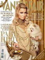 Paris Hilton, más chica de oro que nunca en la portada de la revista Vanity Fair España