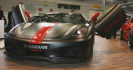 Hamman se va a Frankfurt: Ferrari F430 Black Miracle