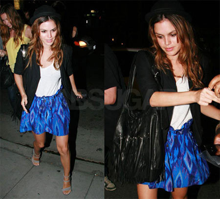 Rachel Bilson es la famosa mejor vestida de 2008