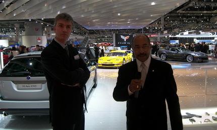 Un paseo por el Salón de Ginebra con Ed Welburn, director de diseño de GM (parte 1)