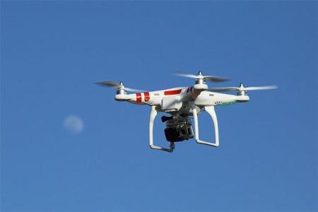 Alarma en la Casa Blanca al colarse un dron en su jardín
