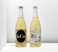 &Co, vino blanco de diseño
