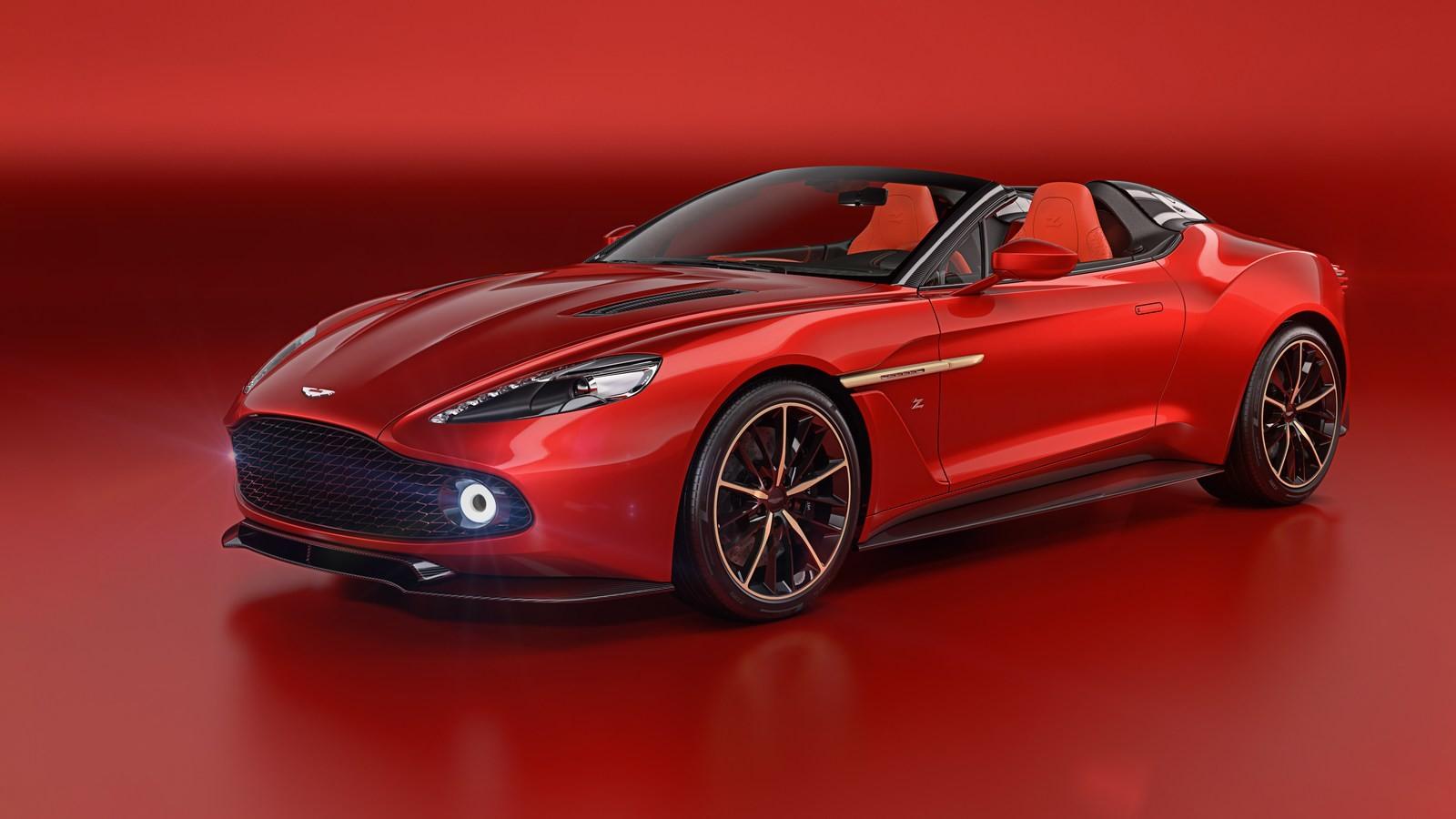 Foto de Aston Martin Vanquish Zagato Speedster (6/6)