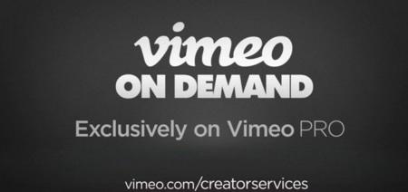 Vimeo on Demand ya permite a los creadores cobrar directamente por sus obras