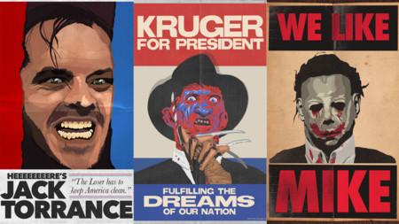 ¿Y si los candidatos presidenciales fueran los villanos de las películas de terror?
