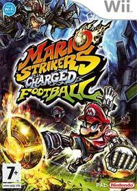 Mario Strikers Charged - Caratula