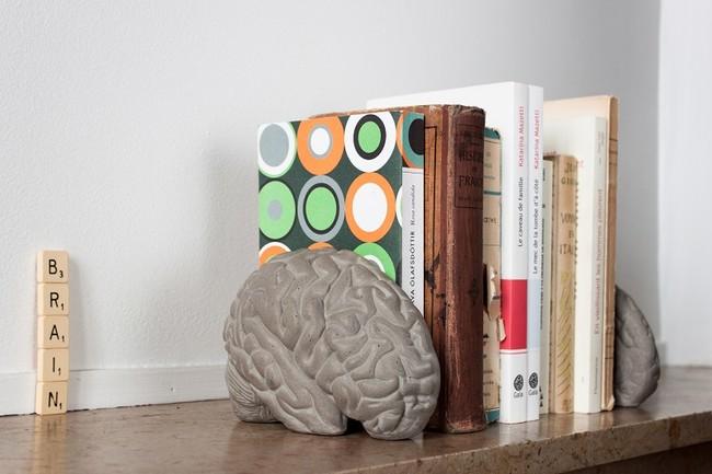 Gray Matters Book Ends By Lyon Beton