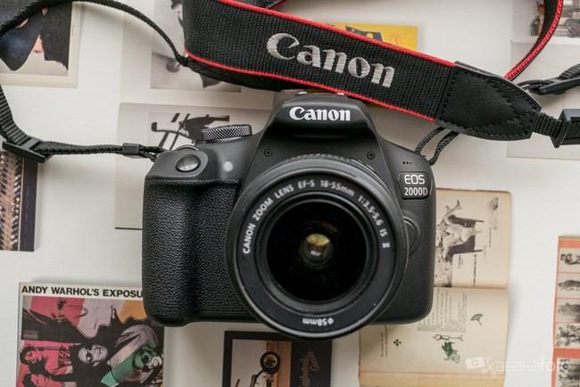 Canon EOS 2000D, análisis: el precio como reclamo para una réflex sin pretensiones