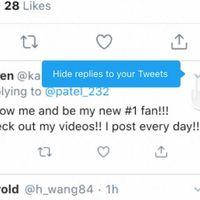 Así puedes esconder respuestas a tus tweets en Twitter para iOS y Android