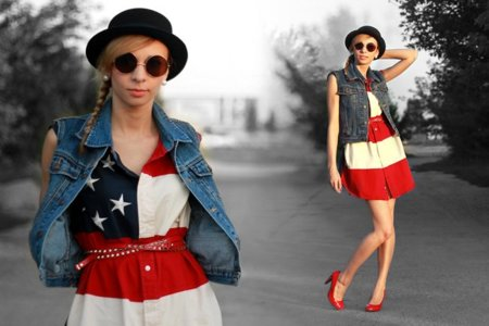 Vestido EEUU