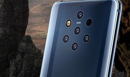 Las cinco cámaras del Nokia 9 PureView, explicadas: analizamos qué aporta el móvil que lleva a su máxima expresión el más es mejor