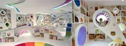 """Una librería para niños muy """"cool"""" en Beijing"""