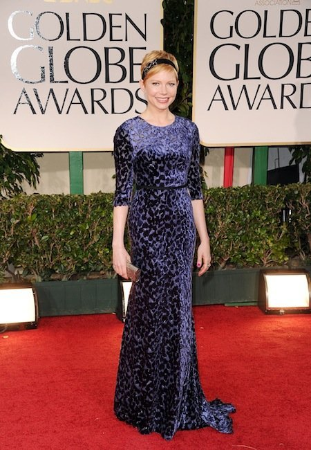 michelle williams gg 2012