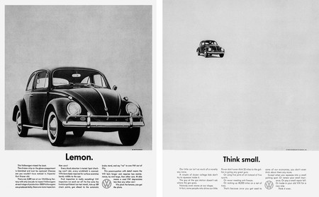 Evolución diseño coches Volkswagen Anuncios