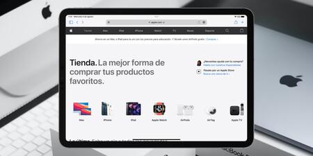 Apple añade la pestaña Tienda a su sitio web y centraliza todo su catálogo en un solo lugar