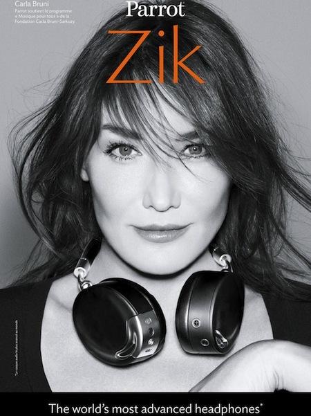 Carla Bruni no piensa en abandonar el mundo de la moda y la fotografía tan pronto...