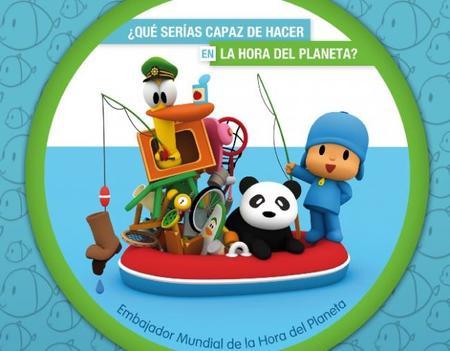 Ayuda a Pocoyó en la Hora del Planeta 2013