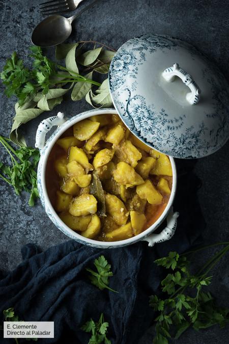 Patatas viudas: Receta de Semana Santa