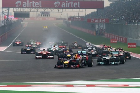 Salida GP de India 2013