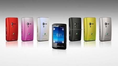 Colores Xperia X10 mini