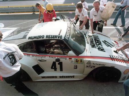 Porsche 935 k3 24 horas de le mans 1979 narcos whittington