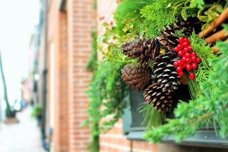 Decoración de Navidad para balcones y terrazas