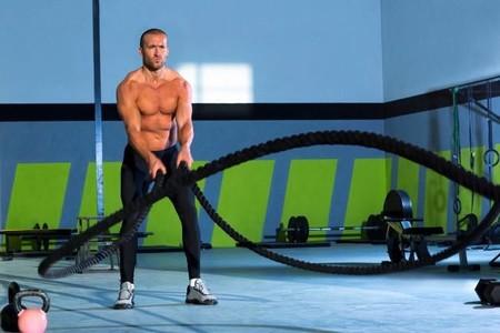 Así trabaja tu cuerpo con battle ropes