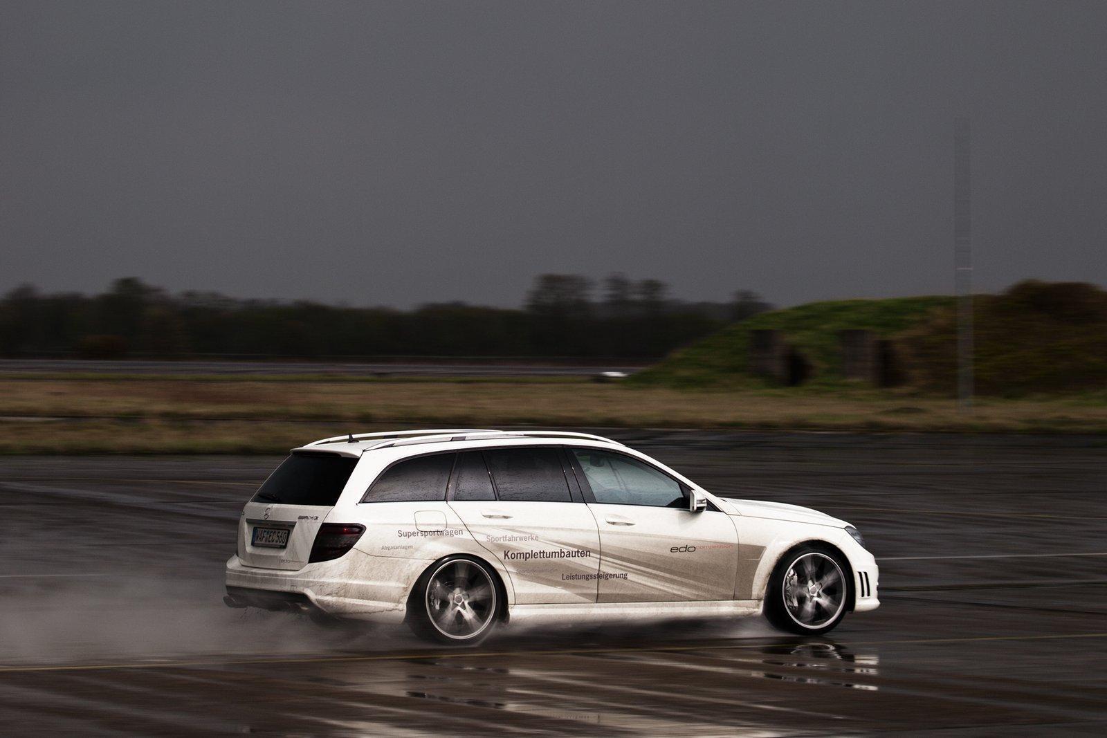 Foto de Mercedes C63 AMG Wagon por Edo Competition (13/16)