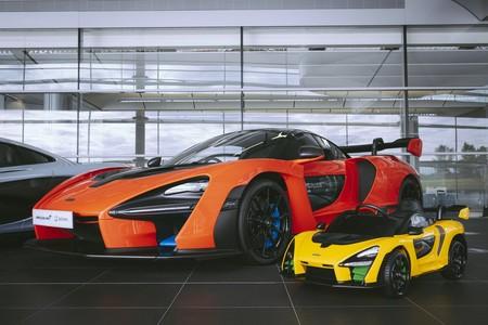 """McLaren Senna """"Ride On"""", el juguete ideal para tu hijo, que tú también vas a querer"""