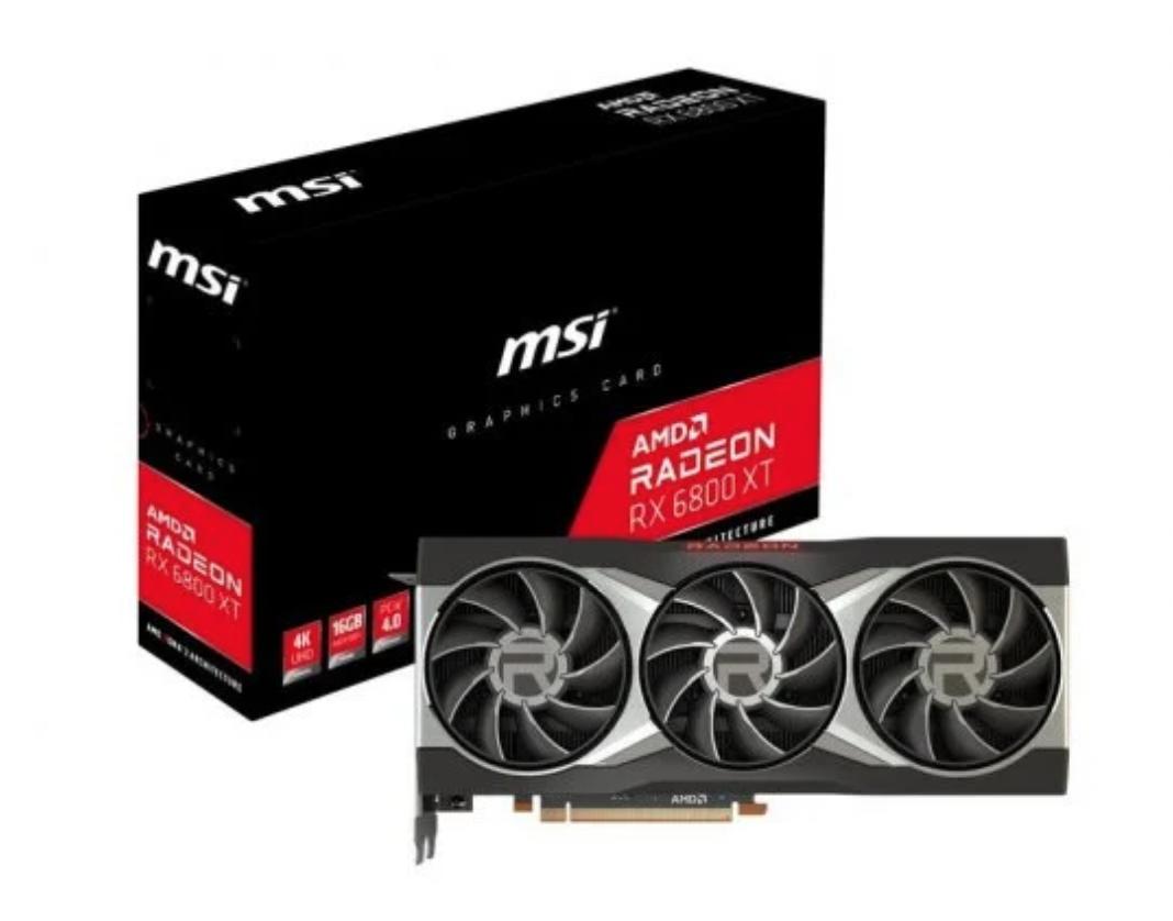 MSI AMD Radeon RX 6800 XT 16 GB GDDR6