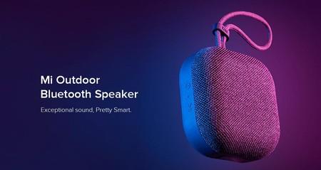 El Xiaomi Mi Outdoor es un altavoz sin cables, compacto y compatible con los asistentes de voz más populares