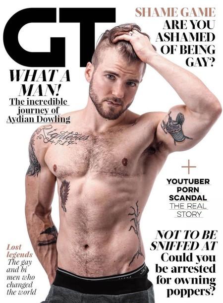 Aydian Dowling Para Gay Times Magazine Marzo 2016