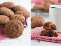 Pastas fáciles de chocolate y fresas. Receta para San Valentín