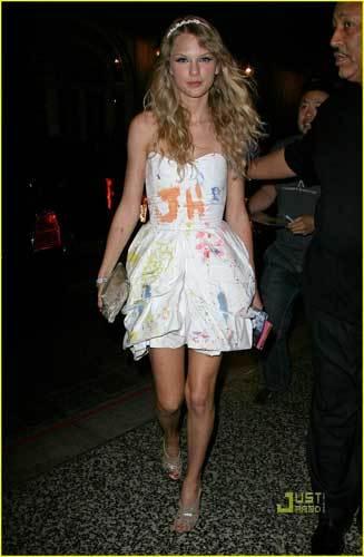 El look de Taylor Swift en el cumpleaños de Katy Perry