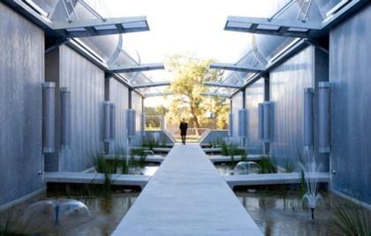 Casas poco convencionales: adosados futuristas en Sydney