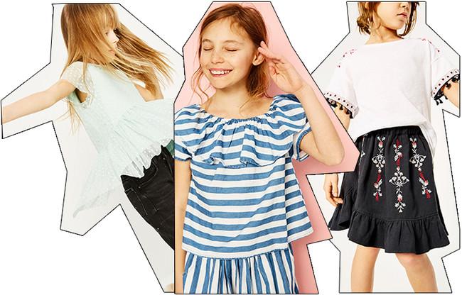 ¿Te encanta esa blusa de rayas o el top con plumeti de la colección woman   Prueba suerte con Zara Kids 450b0951162