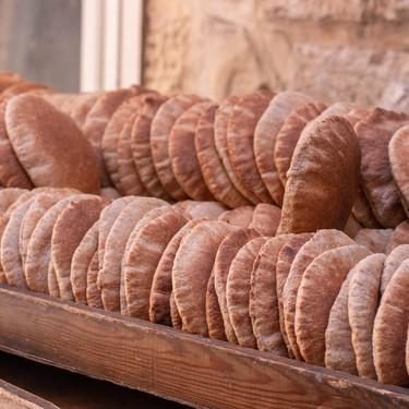 Pan pita casero. Receta árabe fácil y tradicional