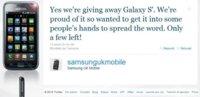 Publicidad agresiva: Samsung regala Samsung Galaxy S a los clientes descontentos con iPhone 4 en Reino Unido