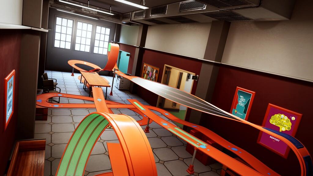 Hot Wheels Unleashed nos lleva de vuelta a los estudios y clases con un gameplay dedicado a su circuito en el Campus Escolar