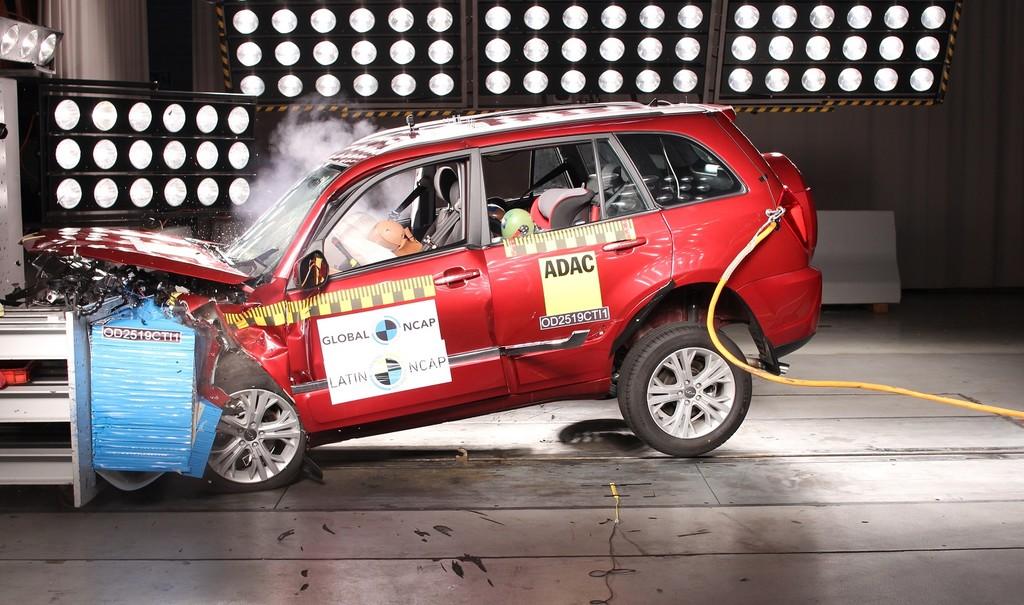 El SUV chino Chery Tiggo 3 se vende en Latinoamérica con dos airbags... y cero estrellas Latin NCAP