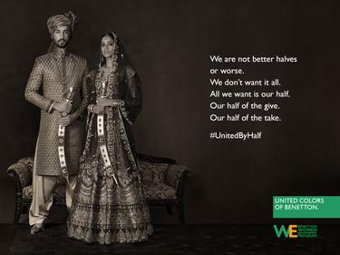 Hoy es Día Internacional de la Mujer y Benetton lanza esta campaña reivindicativa de lucha por la igualdad de género