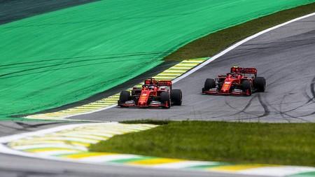 Vettel Leclerc Brasil F1 2019